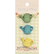 Watering Can - Spring Fling Buttons