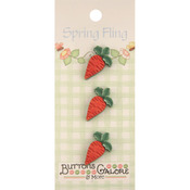 Carrots - Spring Fling Buttons