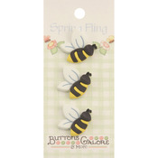 Bees - Spring Fling Buttons