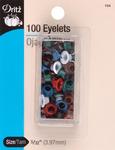 """Assorted Colors - Eyelets 5/32"""" 100/Pkg"""