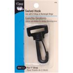 """Black - Swivel Hook For 1"""" Strap"""