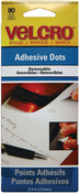 "Removable - VELCRO(R) Brand Adhesive Dots 3/8"" 80/Pkg"