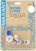 """Size 20 1/2"""" 6/Pkg - Cover Button Kit"""