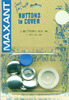 Size 36 7/8 inches  3/Pkg - Cover Button Kit MAXANT-Customize your buttons to match your garments or home decor projects! Easy to use and tool is included. Sizes range from 1/2 to 1-7/8. Smaller sizes are used for clothing, larger sizes are used for pillows, craft, and ornaments.