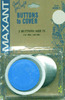 Size 75 1-7/8  2/Pkg - Cover Button Kit MAXANT-Customize your buttons to match your garments or home decor projects! Easy to use and tool is included. Sizes range from 1/2 to 1-7/8. Smaller sizes are used for clothing, larger sizes are used for pillows, craft, and ornaments.