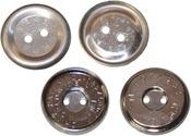 Nickel - Magnetic Sew-On Closure 14mm 1/Pkg