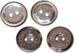 Nickel - Magnetic Sew-On Closure 18mm 1/Pkg