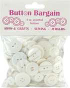 Whites - Button Bargain 4oz