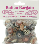 Naturals - Button Bargain 4oz
