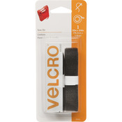 "Black - VELCRO(R) Brand Sew-On Tape 3/4""X30"""