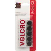 "VELCRO(R) Brand STICKY BACK Coins 5/8"" 15/Pkg - Black"