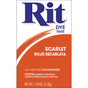 Scarlet - Rit Dye Powder