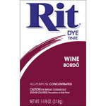 Wine - Rit Dye Powder