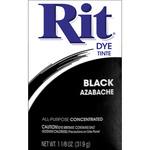 Black - Rit Dye Powder
