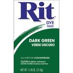 Dark Green - Rit Dye Powder