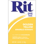 Golden Yellow - Rit Dye Powder
