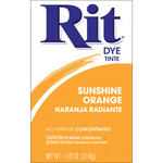 Sunshine Orange - Rit Dye Powder