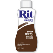 Dark Brown - Rit Dye Liquid 8oz