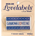 Grandma Loves Me - Iron-On Lovelabels 4/Pkg