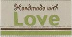 Handmade With Love - Iron-On Lovelabels 4/Pkg