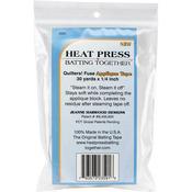 ".25""X30yd - Heat Press Batting Together Applique Tape - White"