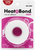".75""X8yd - Heat'n Bond Hem Iron-On Adhesive - Super"