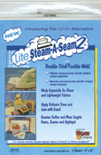"Lite Steam - A - Seam 2 Double Stick Fusible Web-9""X12"" Sheets 5/Pkg"