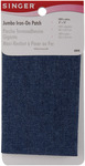 "Denim - Iron-On Jumbo Patch 8""X10"" 1/Pkg"