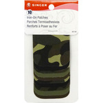 "Camouflage - Iron-On Patches 2""X3"" 10/Pkg"
