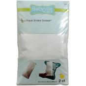 White - Babyville Boutique Snake Soakers 2/Pkg