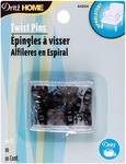 Smoke - Upholstery Decorative Twist Pins 10mm 10/Pkg