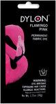 Flamingo Pink - Dylon Permanent Fabric Dye 1.75oz
