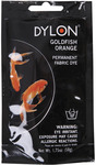 Goldfish Orange - Dylon Permanent Fabric Dye 1.75oz
