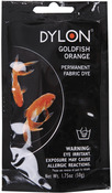 Goldfish Orange - Dylon Permanent Fabric Dye 1.75oz