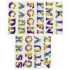 "Tie-Dye - Soft Flex Iron-On Letters 1.25"" Cooper"
