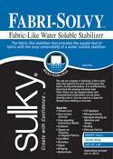 """20""""X36"""" - Fabri-Solvy Soluble Stabilizer"""