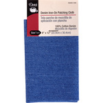 "Faded Blue - Denim Iron-On Patching Cloth 9""X12"" 1/Pkg"