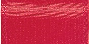"Red - Wired Bistro Ribbon 1-1/2""X9'"