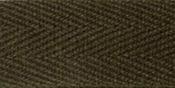 """Dark Brown - 100% Cotton Twill Tape 5/8""""X55yd"""