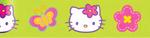"""Rainbow - Hello Kitty Ribbon 1-1/2""""X9'"""