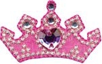 Pink Crown - Wrights Iron-On Applique