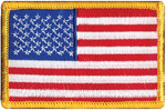 American Flag - Wrights Iron-On Applique