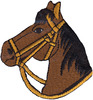 Brown Horse - Wrights Iron-On Applique WRIGHTS-Iron-On Applique. Iron-On Appliques are the perfect decorative addition to a wearable garment or a craft project. They come in a variety of sizes and styles. Great for towels, blankets, pillows, purses, scrapbooks, backpacks, aprons, jackets, pants, t- shirts, costumes, baby clothes and so much more! This package contains one 2-3/4x2-3/4in horse applique. Not for use on delicate fabrics. Imported.