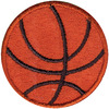Basketball - Simplicity/Wrights Iron-On Applique Simplicity-Iron-On Applique. Iron-On Appliques are the perfect decorative addition to a wearable garment or a craft project. They come in a variety of sizes and styles. Great for towels, blankets, pillows, purses, scrapbooks, backpacks, aprons, jackets, pants, t- shirts, costumes, baby clothes and so much more! This package contains one 1-1/2x1-1/2in basketball applique. Not for use on delicate fabrics. Imported.
