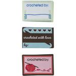 Crochet 9/Pkg - Boye Garment Labels