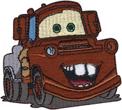 Mater - Disney Cars Iron-On Applique