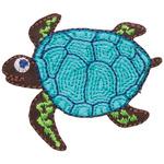 Sea Turtle - Simplicity Iron-On Applique