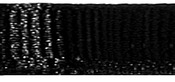 "Black - Grosgrain Ribbon 3/8""X18'"