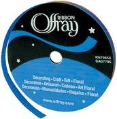 "Century Blue - Grosgrain Ribbon 3/8""X18'"