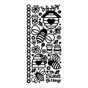 Dazzles Stickers - Honey Bees